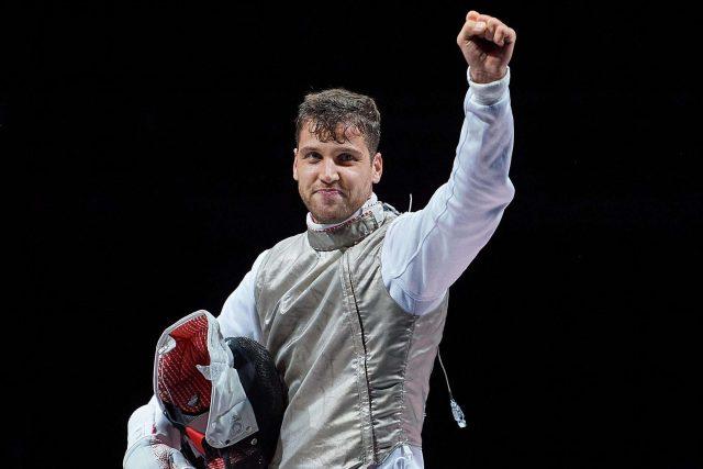 Po více než sto letech získali Češi olympijskou medaili v šermu. Alexander Choupenitch vybojoval bronz   foto: Český olympijský výbor  (5235372)