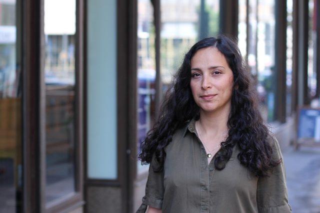 Česká novinářka afghánského původy Fatima Rahimi | foto: Kateřina Cibulka,  Český rozhlas Plus