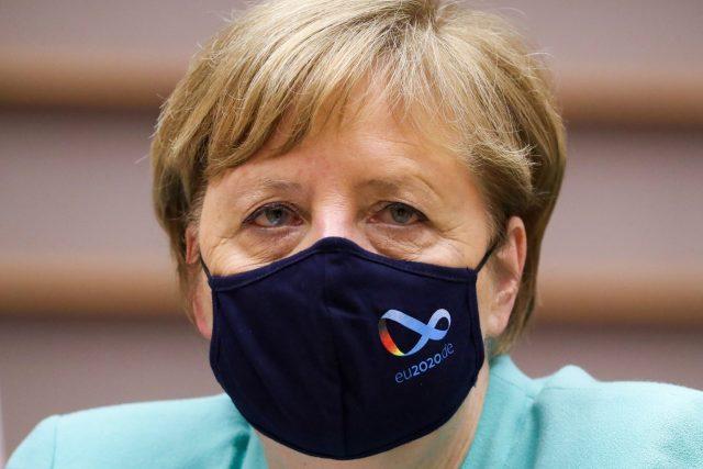 Německá kancléřka Angela Merkelová vystoupila před poslanci Evropského parlamentu