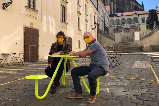 VBrně vznikl nápad, jak umožnit znovuotevření restauračních zahrádek při zachování hygienických opatření kvůli koronaviru