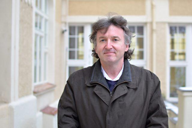 Prezident České lékařské komory Milan Kubek   foto: Dana Špicarová,  Český rozhlas,  Český rozhlas