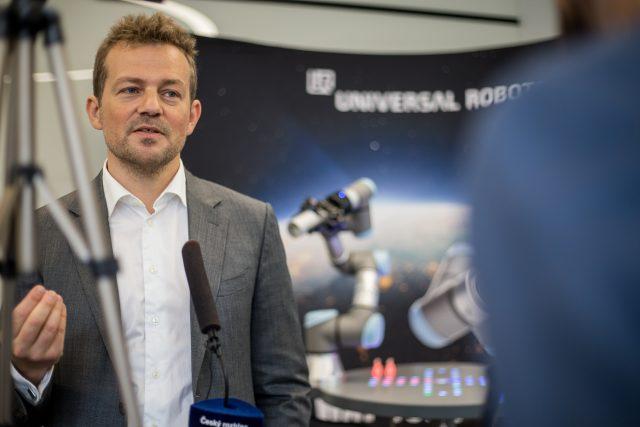 Esben Østergaard, zakladatel Universal Robots