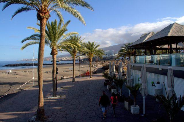 Prázdné pláže ve Španělsku