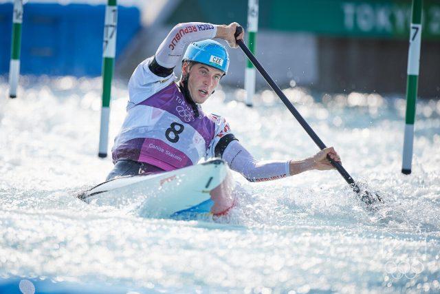 Lukáš Rohan,  stříbrný medailista z Tokia 2020 | foto: Barbora Reichová,  Český olympijský výbor  (5235372)