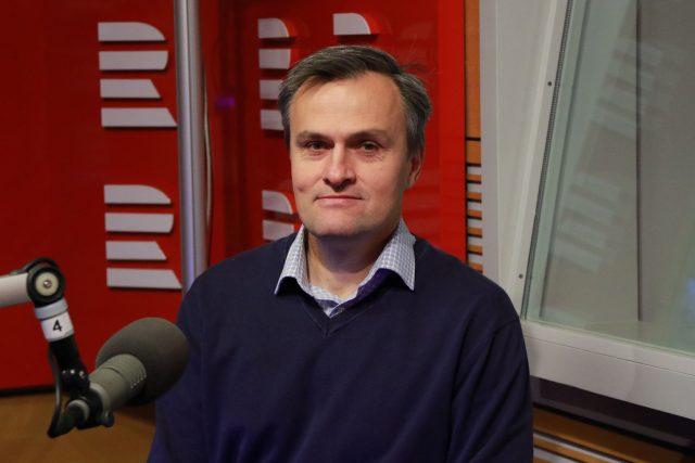 Ředitel organizace ADRA ČR Radomír Špinka