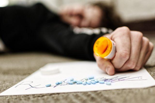 drogy - předávkování