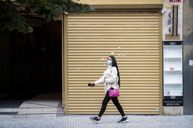 Zavřené obchody   foto: Michal Šula,  MAFRA / Profimedia