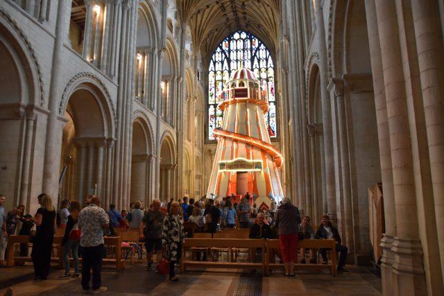 Katedrála v Norwichi | foto: Jaromír Marek,  Český rozhlas,  Český rozhlas
