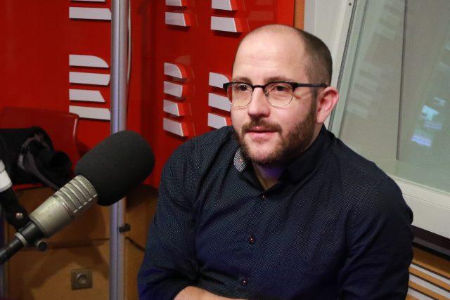 Sociolog Daniel Prokop | foto: Anna Duchková,  Český rozhlas,  Český rozhlas