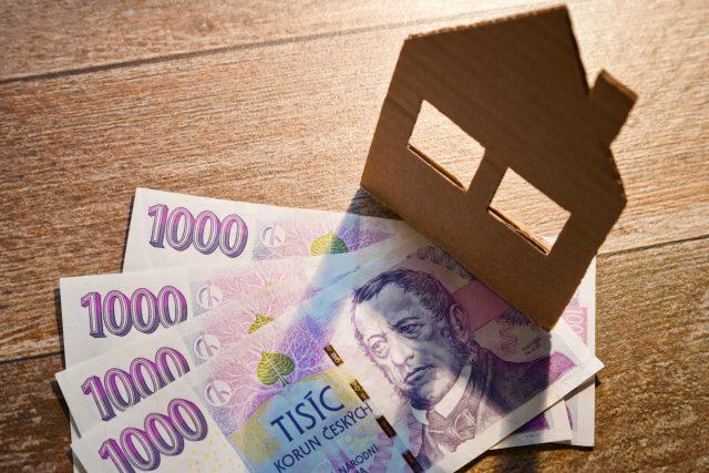 Peníze na bydlení (ilustr. obr.)