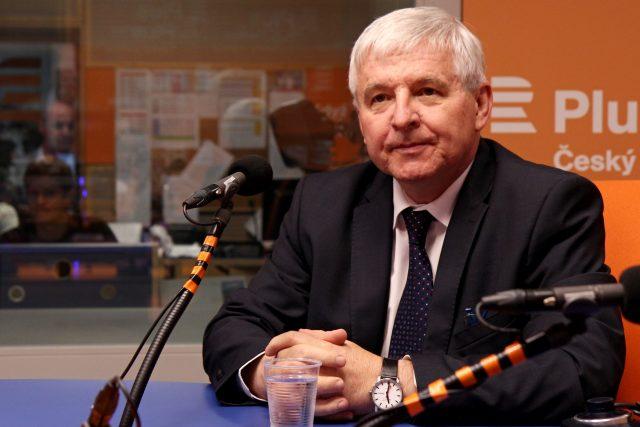 Guvernér České národní banky Jiří Rusnok   foto: Jana Přinosilová,  Český rozhlas