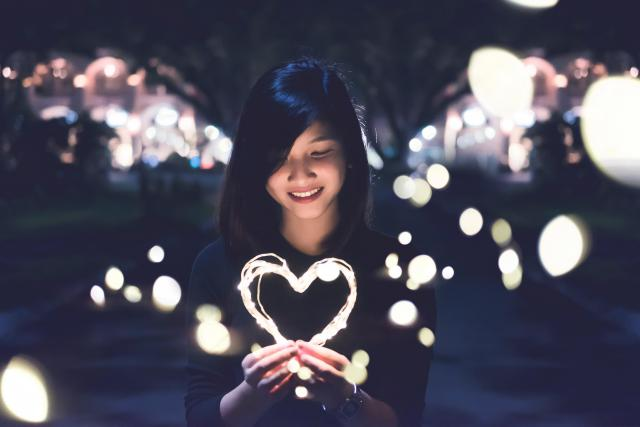 Srdce, láska, sebeláska, sebevědomí