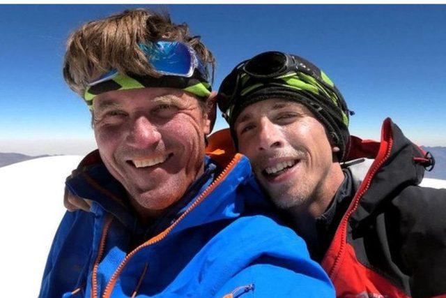 Čeští horolezci Marek Holeček a Radoslav Groh | foto: Facebook Marka Holečka