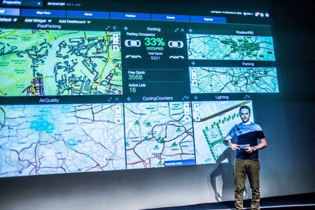 Benedikt Kotmel představuje pražskou datovou platformu
