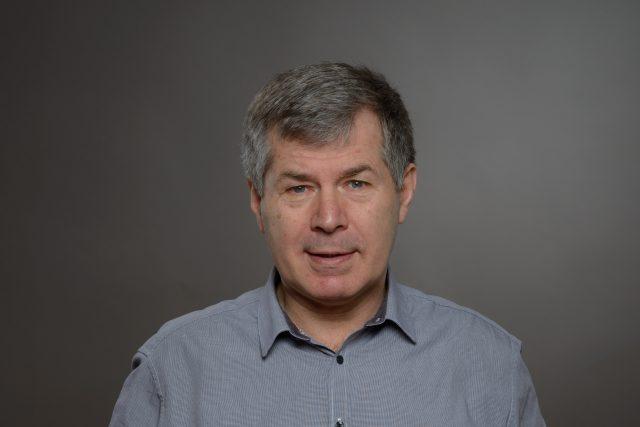 Rozhlasový reportér Jaroslav Skalický