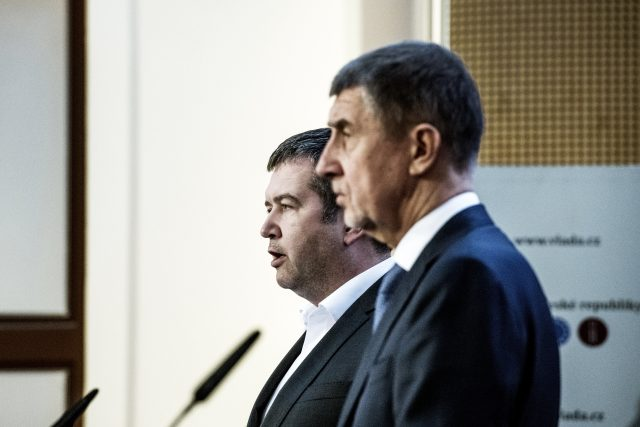 Andrej Babiš a Jan Hamáček