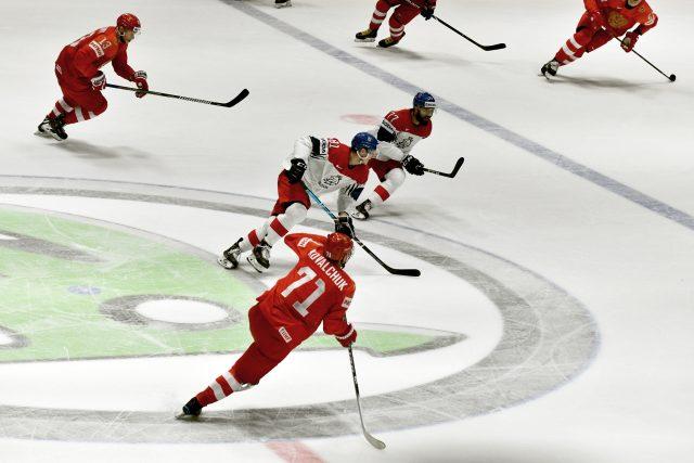 Mistrovství světa v hokeji, Česko-Rusko