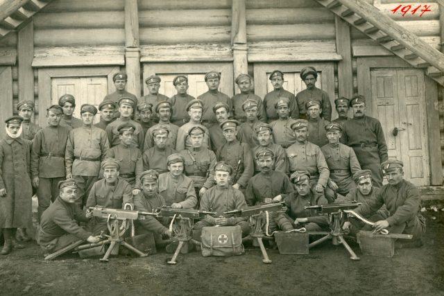 Českoslovenští legionáři | foto: Wikimedia Commons,  CC0 1.0