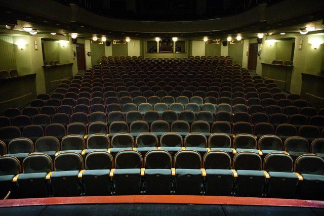 Prázdný divadelní sál