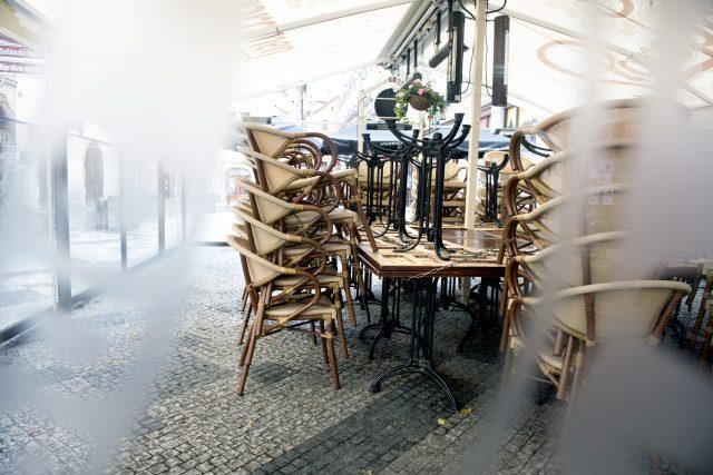 Zavřená restaurace
