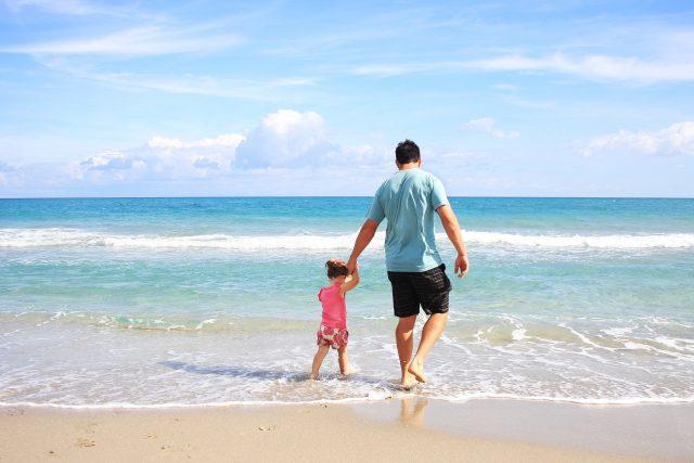 Letní dovolená, moře (ilustrační foto)