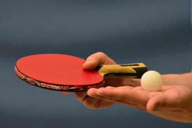 stolní tenis (ilustrační foto)
