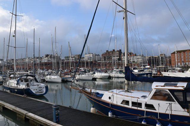Jachty ve starém přístavu