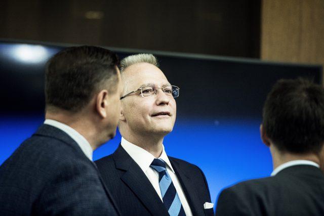 Michal Koudelka,  ředitel Bezpečnostní informační služby   foto: Michaela Danelová,  iROZHLAS.cz