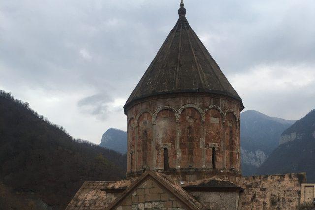 Od příštího týdne se už na toto místo Arméni nedostanou, možná už nikdy