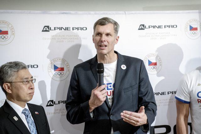 Jiří Kejval, předseda českého olympijského výboru