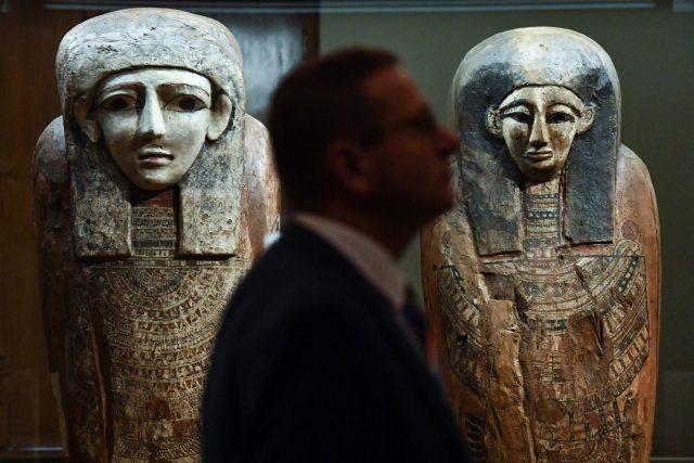 Expozice mimo jiné představí nejvýznamnější objevy českých vědců v egyptské lokalitě Abúsír