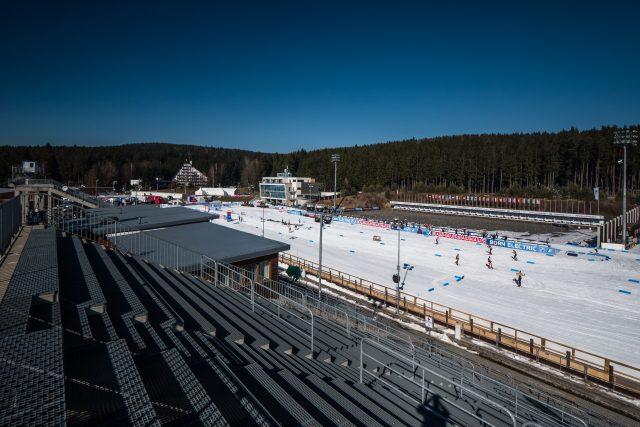 Biatlonový areál v Novém Městě na Moravě | foto:  (C) Český biatlon,  Petr Slavík
