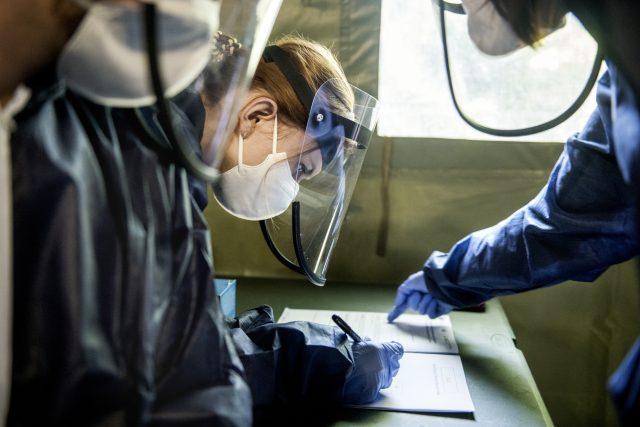 Plošné testování koronaviru v Praze