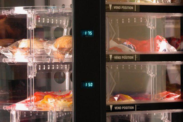 Automat na potraviny (ilustrační foto)