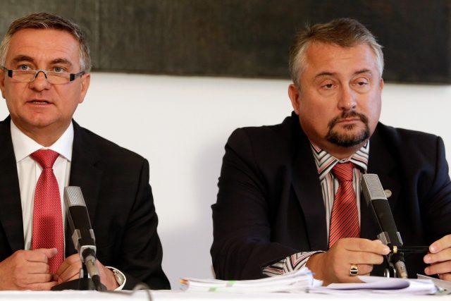 Kancléř prezidenta republiky Vratislav Mynář a advokát Marek Nespala