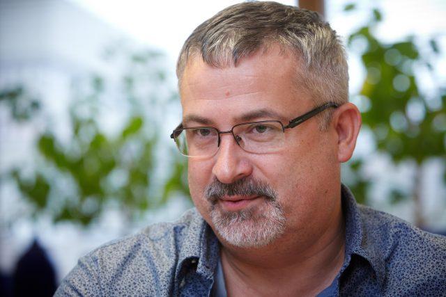 Předseda Českomoravského odborového svazu František Dobšík