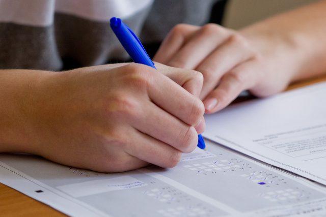 Přijímací zkoušky (ilustrační foto)
