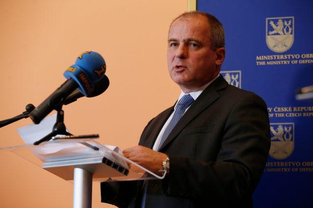 Ředitel Vojenského zpravodajství Jan Beroun