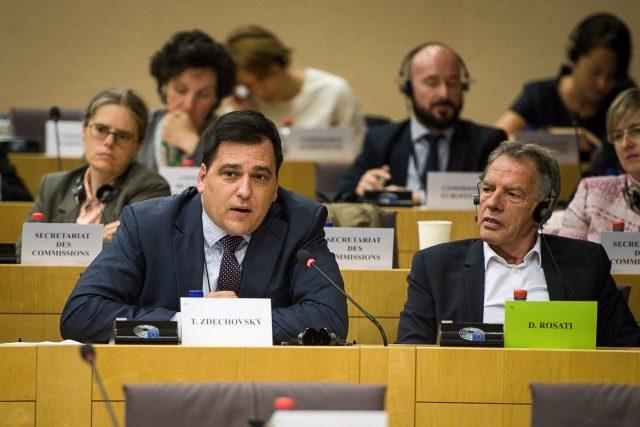 Poslanec Evropského parlamentu Tomáš Zdechovský z KDU-ČSL. | foto: Profimedia