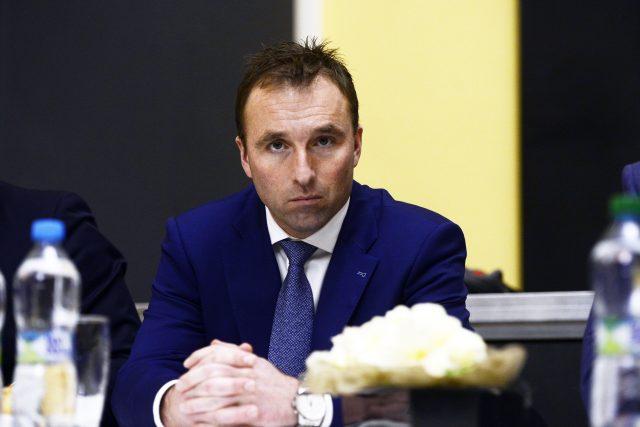 Vládní zmocněnec pro sport Milan Hnilička (za ANO).