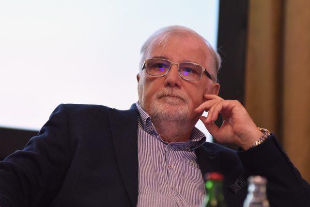 Prezident Svazu průmyslu a dopravy Jaroslav Hanák | foto: Tomáš Tkáčik,  Profimedia