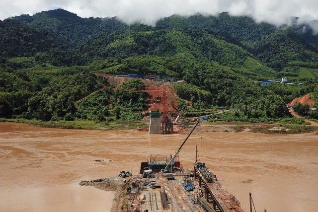 Stavby na řece Mekong (ilustrační snímek).