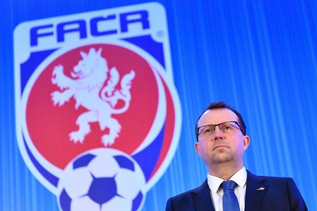Předseda Fotbalové asociace ČR Martin Malík
