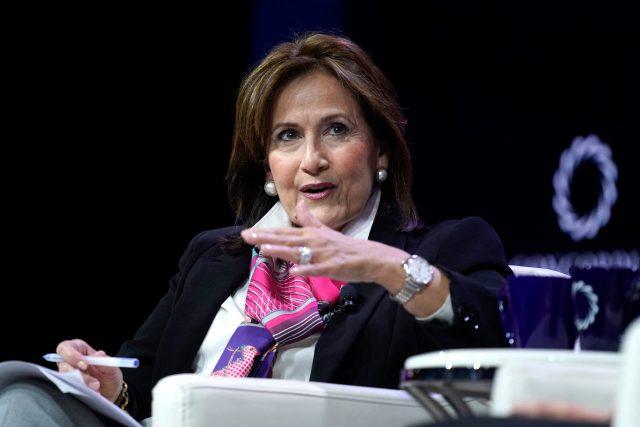 Bývalá asistentka prezidenta George Bushe mladšího a jednu dobu také šéfka kanceláře první dámy Laury Bushové Anita McBrideová | foto: Profimedia