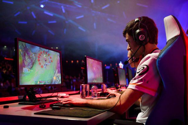Utkání ve videohře League of Legends (ilustrační foto)
