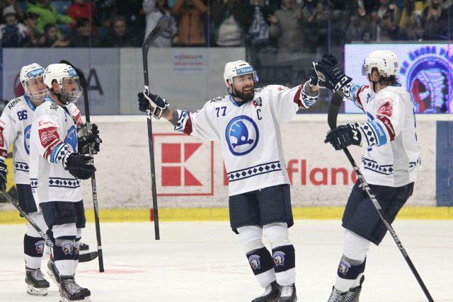 Plzeňští hokejisté.