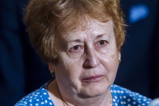 Ředitelka pražské hygienické stanice Zdeňka Jágrová