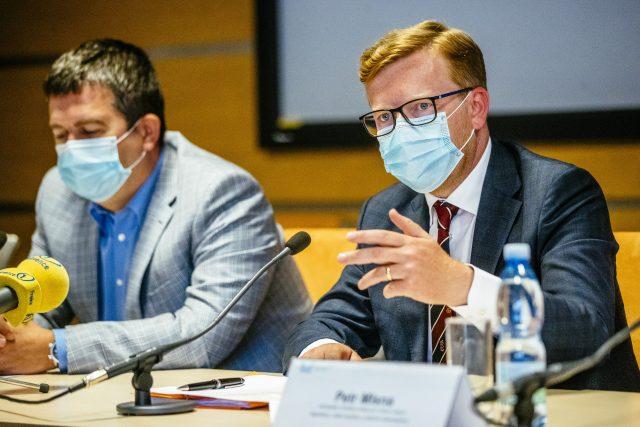 Náměstek ministra vnitra pro řízení legislativy Petr Mlsna