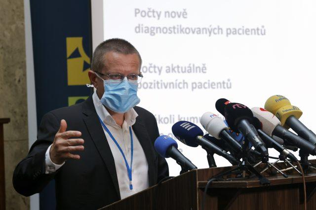 Šéf ÚZIS Ladislav Dušek