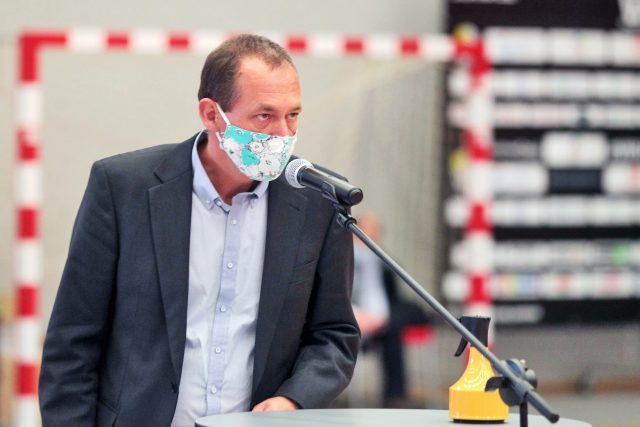 Jediným kandidátem na hejtmana byl lídr kandidátky STAN Petr Kulhánek   foto: Václav Šlauf / MAFRA,  Profimedia